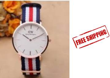 Full Slim Watch For Men at Rs. 135 + Free Shipping low price