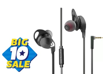 Envent Beatz 302 Black With Mic Wired Headphones at Just Rs. 399 + 30% Cashback low price