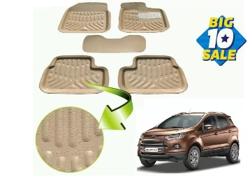 Flat 91% OFF : Get Auto Hub Plastic Car Mat For Ford Ecosport + Extra 30% Cashback low price