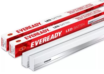 Eveready 4 Feet 18Watt LED Tube [Pack Of 2] at Just Rs. 599 + Rs. 150 Cashback + FREE Shipping low price