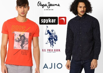 Get Minimum 50% Off On john Players, Pepe Jeans & More Men's Clothing low price