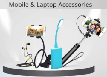 Mobile & laptop Accessories at under Rs. 199 Start From Rs. 39 discount deal