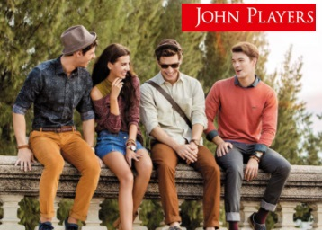 Minimum 50% Off on John Players Men's Clothing from Rs. 359 low price