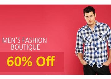 Top Brands {Wrangler, Lee, UCB} Men's Clothing minimum 60% off from Rs. 199 {Flipkart Assured} low price