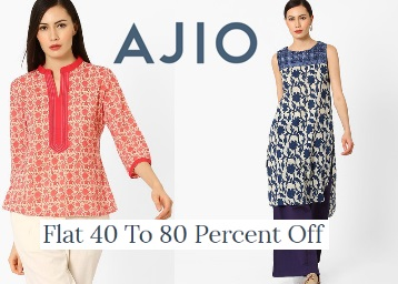 Get Women's Clothing Flat 40-80% Off + Rs. 200 Cashback + FREE Shipping low price