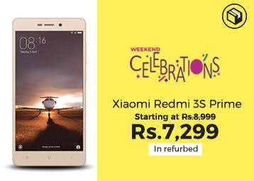 Weekend Celebration sale is live & Join The Biggest Mobile Carnival Of This Month discount deal
