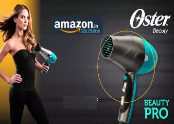 Steal – Oster Hair Dryers, Straighteners & Curlers 48% off or more from Rs. 470 low price