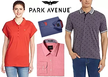 Awesome Offer: Park Avenue Clothing at Minimum 50% OFF + Free Shipping low price
