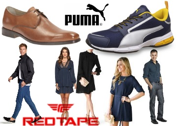 Clothing & Footwear 50% off or more from Rs. 148 low price