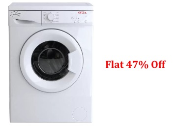 Onida 5.5 kg Fully Automatic Front Load Washing Machine Flat 47% off + FREE Shipping low price