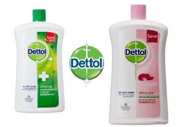 Dettol Liquid Soap Jar Skincare 900 ml at Just Rs. 125 + FREE Shipping low price