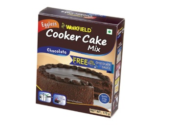 Get Weikfield Cooker Cake Mix, Chocolate, 175g with Cocoa Powder 20g Free discount deal