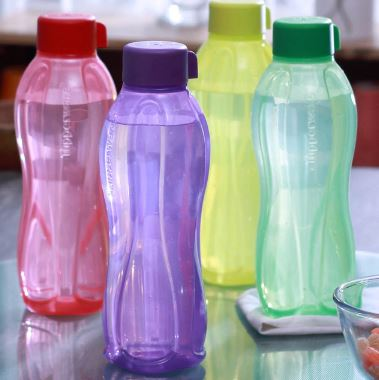 Hot Price :Tupperware Multicolour 1L Bottle Set of 4 at Extra Rs. 300 OFF + Free Shipping low price