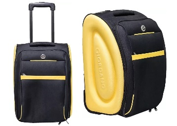 TOP SELLER : Giordano Expandable Cabin Luggage – 18 inch 71% Off + FREE Shipping low price