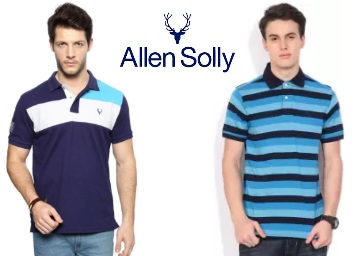 LOOT FAST : Allen Solly Men's Clothing at Flat 30% -60% Off + Extra 20% Cashback discount deal