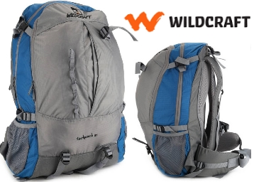 Steal:-Wildcraft Techpack Rucksack – 35 L at FLAT 49% OFF + Extra Rs. 150 Cashback discount deal