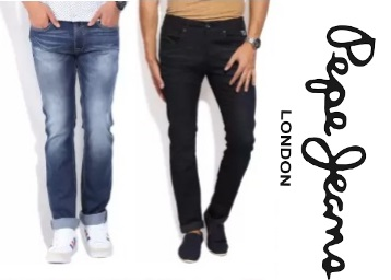 Min. 50% Off + Extra 20% Cashback on Pepe Jeans Men's Jeans + FREE SHIPPING low price