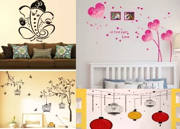 Flipkart DOD Get Flat 78OFF On Home Decor Wall Stickers From Rs