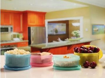 MasterCook 200 ml, 300 ml Plastic Food Storage [Pack Of 4] at Rs. 99 low price
