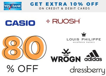 Steal Deal:- Get FLAT 80% OFF on Everything + Additional Offers + More low price