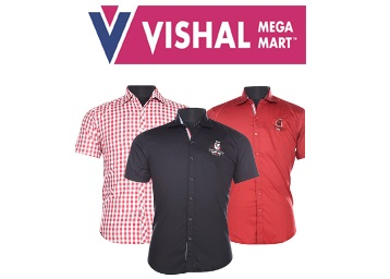 BUMPER PRICE : Men Assorted Casual Shirts (Pack Of 3) at Just Rs. 349 + 7% Off + FREE Shipping low price