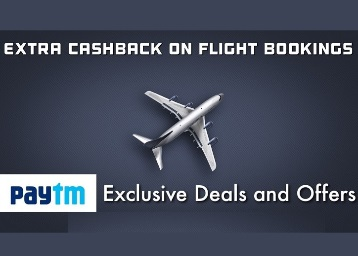 May Expire Any Time : Flat Rs. 1000 Cashback On Rs. 3000 Flight Bookings discount offer