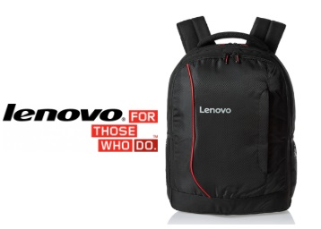 Flat 80% Off : Lenovo Backpack for 15.6-inch Laptop at Just Rs. 497 + FREE Shipping discount deal