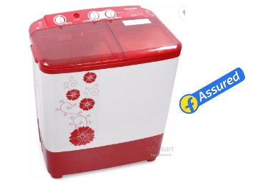 Steal:-Panasonic 6.5 kg Automatic Washing Machine at Just Rs. 7999 + Extra 10% OFF discount deal