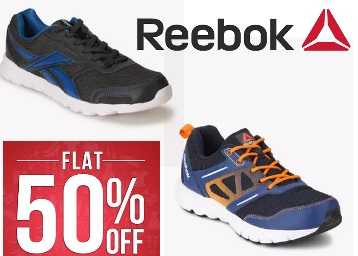 (300+ Products):- REEBOK Men's Sport Shoes at FLAT 50% OFF + Free Shipping low price