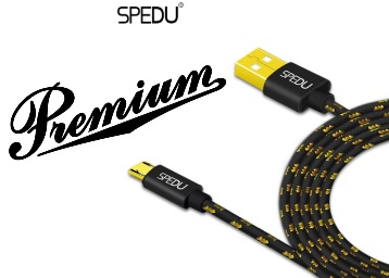 STEAL PRICE : Spedu Premium Gold Plated Micro USB Cable at Just Rs. 54 + FREE Shipping low price