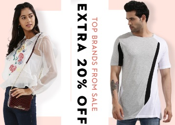 Half Hour Left : Get Flat 30-60% Off On All Fashion Products + Extra 20% Off low price