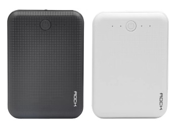 Flat 76% Off : Rock RMP0353 10000 mAh Power Bank at Just Rs. 599 + FREE Shipping low price