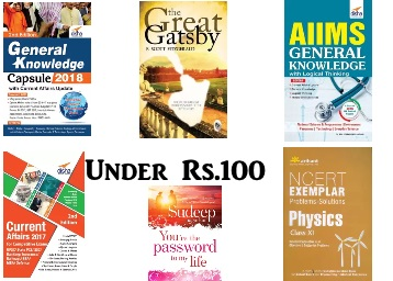 Get All Type Education,Philosophy, Fiction & More Books Under Rs.100 low price