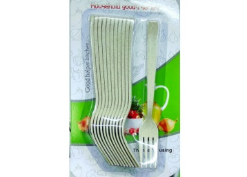 Lukzer Melamine Premium Quality Kids Cutlery Fork Set at Rs. 99 + FREE Shipping low price
