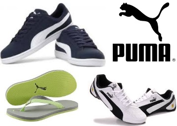 Get Minimum 40% to 60% Off On Puma Shoes   Sandals From Rs.269 + FREE  shipping 375edf6a6bb5