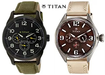 Titan Watches 50% off or more from Rs. 1997 + FREE SHIPPING low price