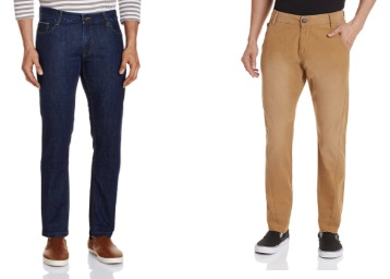 STEAL : Flat 70% Off On UCB Jeans & Trousers + 15% Cashback + FREE Shipping discount deal