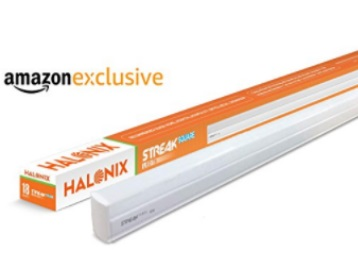 Lightning Deal : Halonix Streak 18-Watt LED Batten 4 ft at Just Rs. 299 + FREE Shipping low price