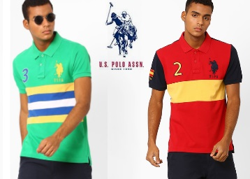 Amazing Offer : Get Flat 50% Off On U.S. Polo Assn Men's Clothing + Extra 50% Off + FREE Shipping low price