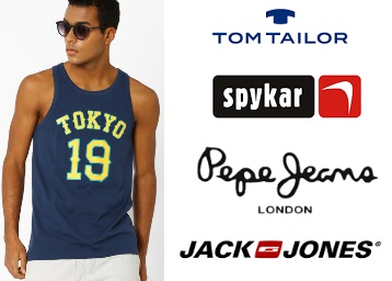 Get Everything On Flat 50% Off (Jack & Jones, Pepe Jeans & More Clothing ) low price