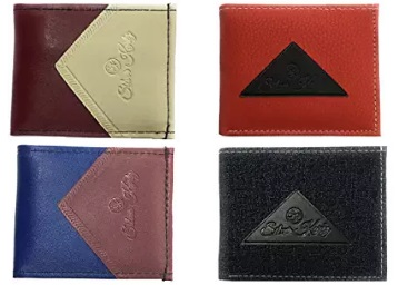 Silver Kartz Men's Brown Genuine Leather Wallet From Rs. 99 discount deal