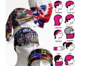 Fashno Unisex Bandana Multi Scarf Headwear at Just Rs.99 + Free Shipping low price