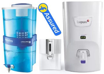 Limited Period Offer:- Water Purifiers at Min. 20% off + Extra 10% off + Free Shipping discount deal