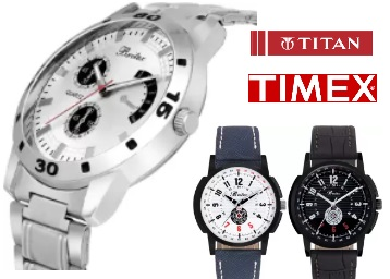 Get Minimum 70% to 80% Off On Branded Watches From Rs.199 + FREE shipping low price