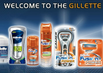 Gillette 30% off or more from Rs. 67 + FREE SHIPPING low price