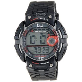 Big DEAL:- QQ Black Fabric Strap Digital Watch at Just Rs. 50 + 15% Cashback
