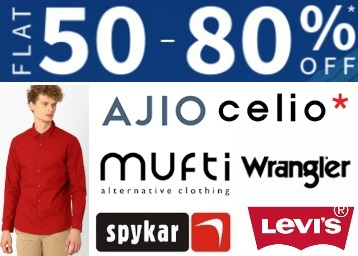 Clothing discount offer