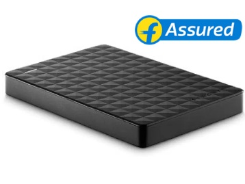 Lowest Online : Seagate 1 TB Wired External Hard Disk Drive at 49% Off + 10% Cashback discount deal