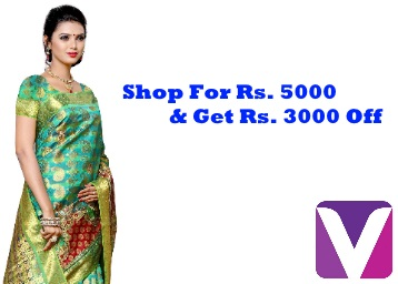 Voonik Blockbuster Sale : Get Flat Rs. 3000 Off On Rs. 5000 + FREE Shipping discount offer