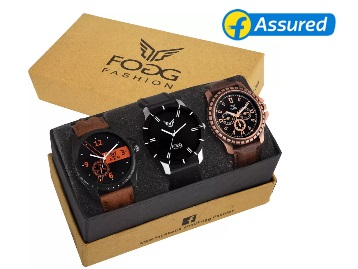 Analog Watch Watch Combo discount offer